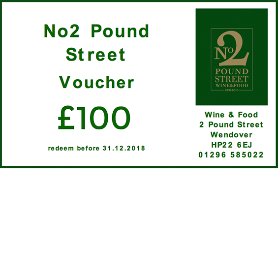No2 Pound Street - Voucher 100 image1