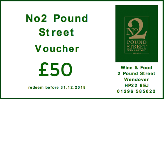 No2 Pound Street - Voucher 50
