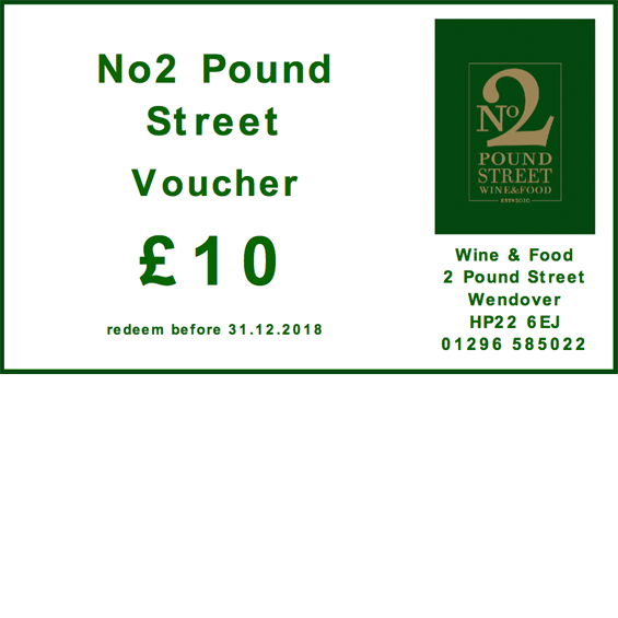 No2 Pound Street - Voucher 10